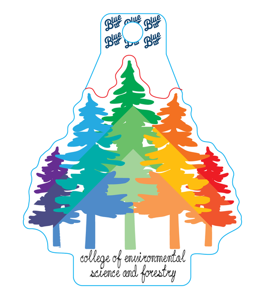 Rainbow Trees Sticker
