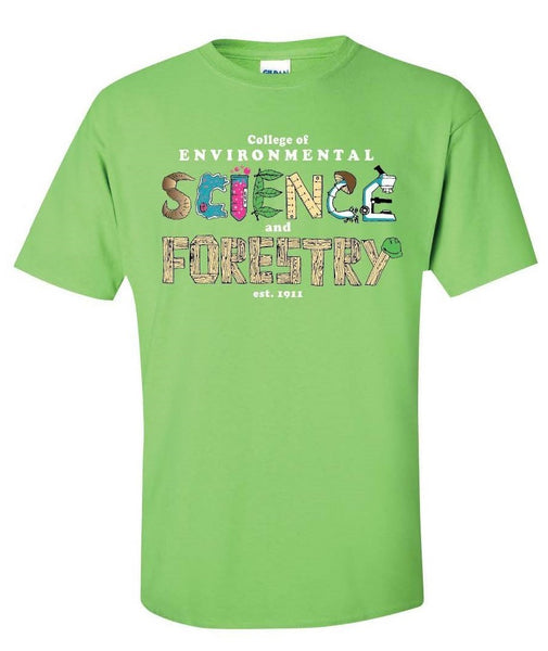 Science & Forestry Kids T-Shirt