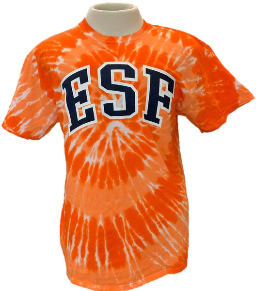 I Root for Orange but I Bleed Green Tie Dye