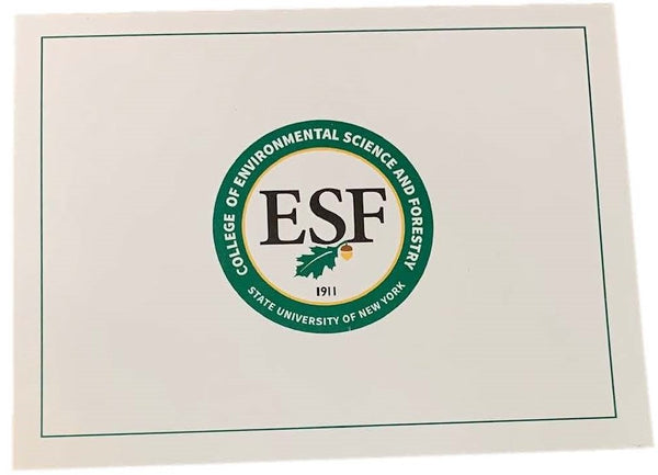 Single ESF Note Card