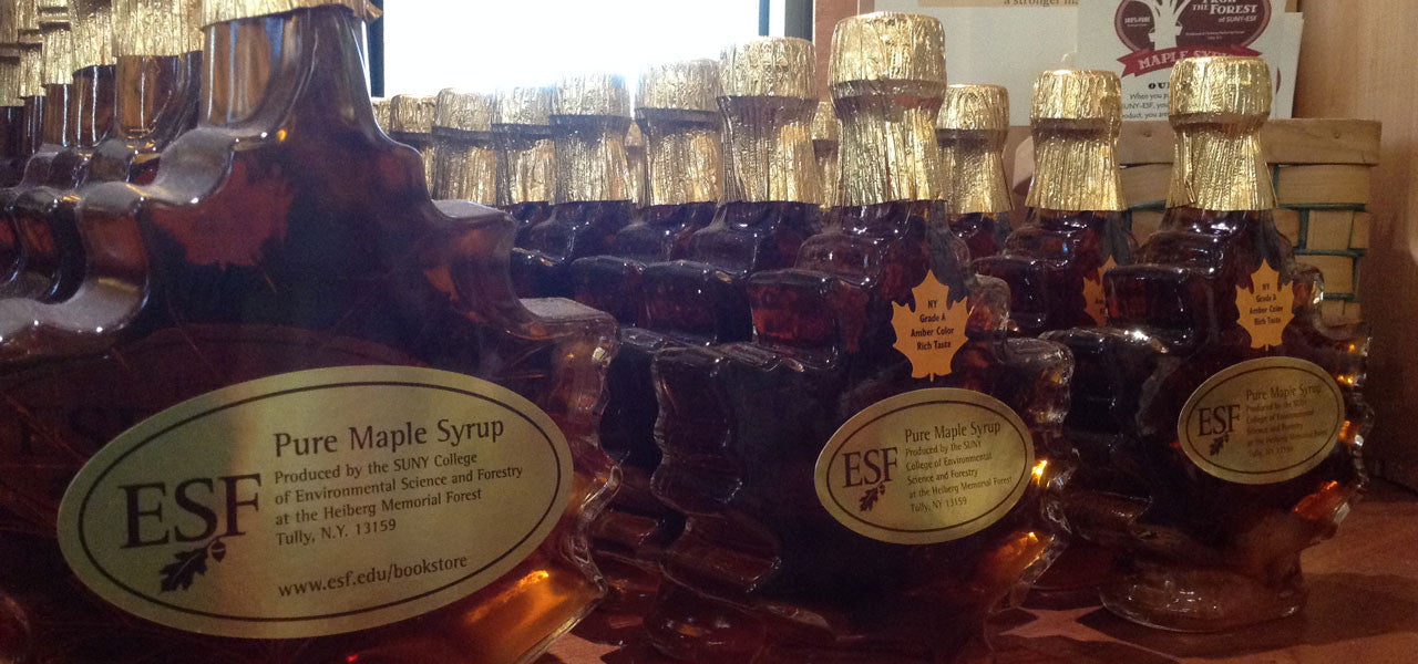 ESF Maple Syrup Bottles