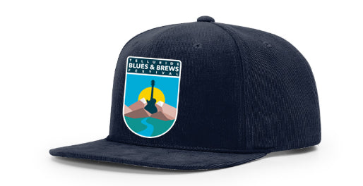 Navy Shield Patch Hat