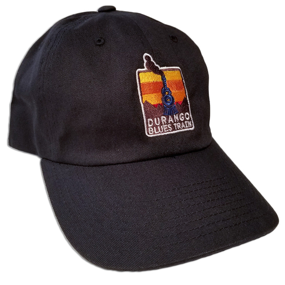 Durango Blues Train - Dad Hat (Black)