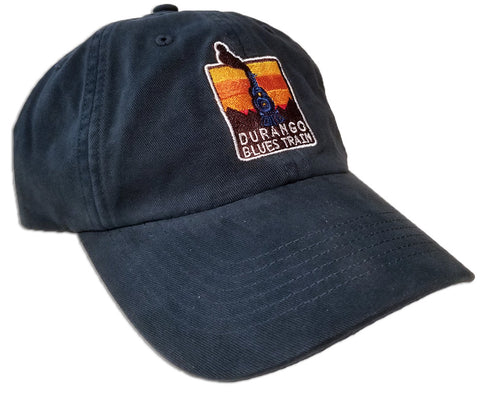 Durango Blues Train - Dad Hat (Navy)