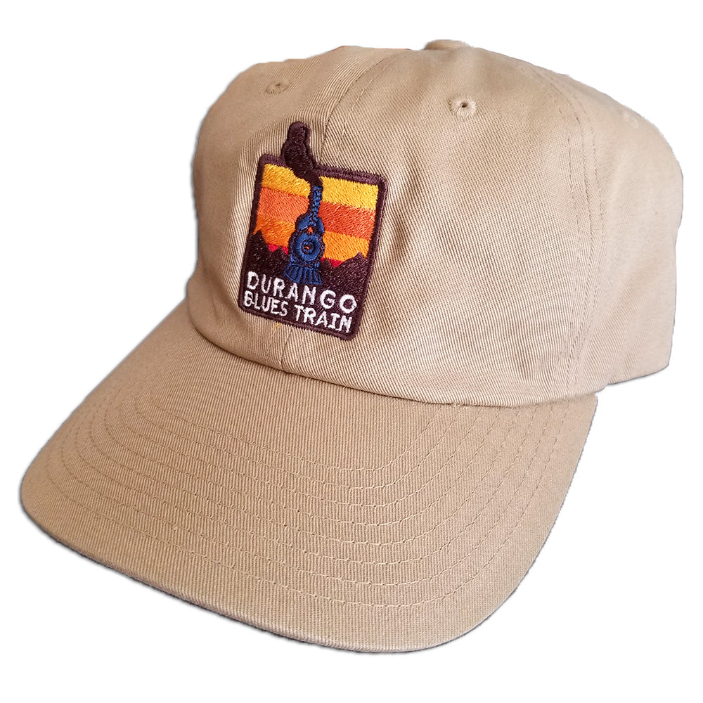 b4f26f58fff Durango Blues Train - Dad Hat (Driftwood) – Telluride Blues   Brews ...