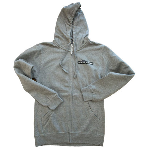 Durango Blues Train - Gray Hoodie