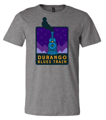 Durango Blues Train - Deep Heather Night Patch Shirt