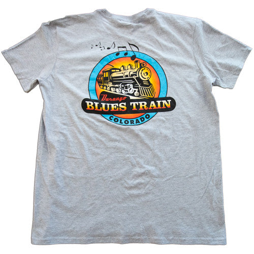 Durango Blues Train - Heather Charcoal T-Shirt