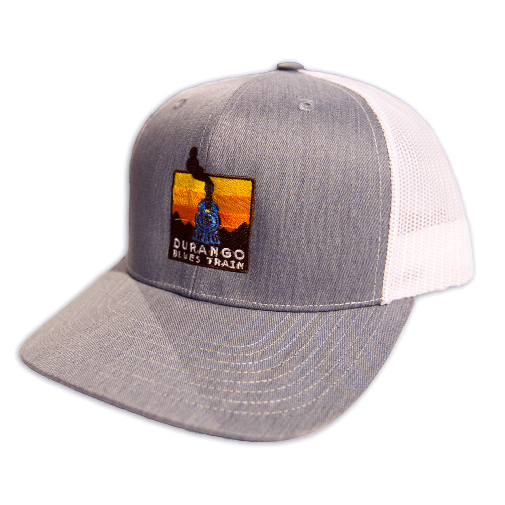 8eae3f9cf67 Durango Blues Train - Trucker Hat – Telluride Blues   Brews Festival