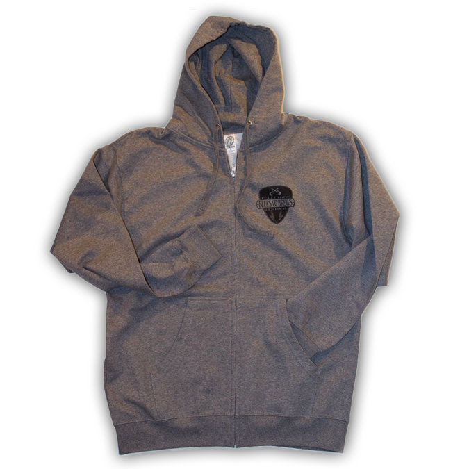 Guitar Pick Zip-Up Hoodie