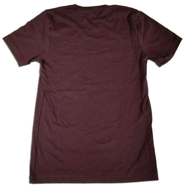 Durango Blues Train - Circle T-Shirt (Oxblood Black)