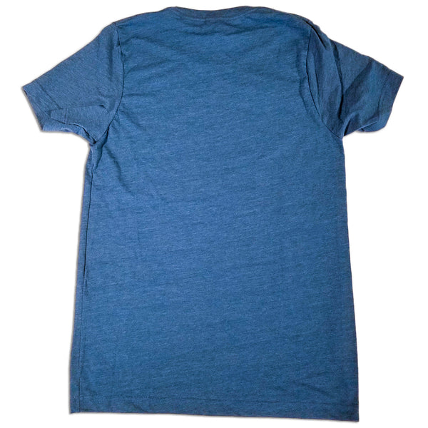 Durango Blues Train - Circle T-Shirt (Teal)
