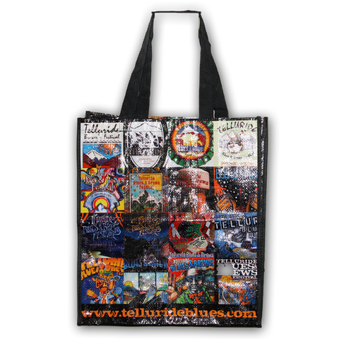Poster Collage Tote Bag
