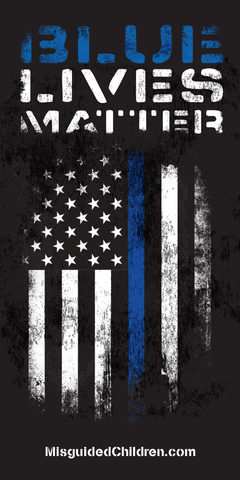 "Blue Lives Matter Decal (3x5"")"