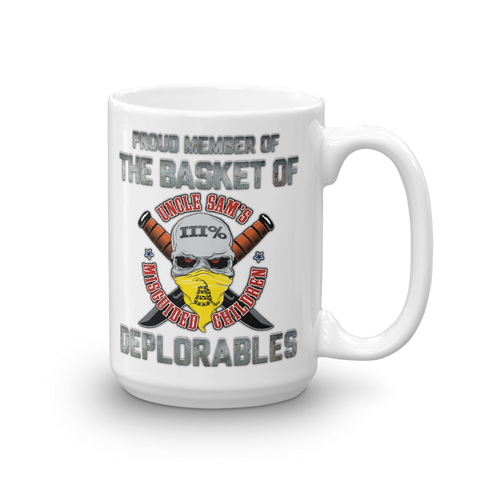 Proud Deplorable Coffee Mug