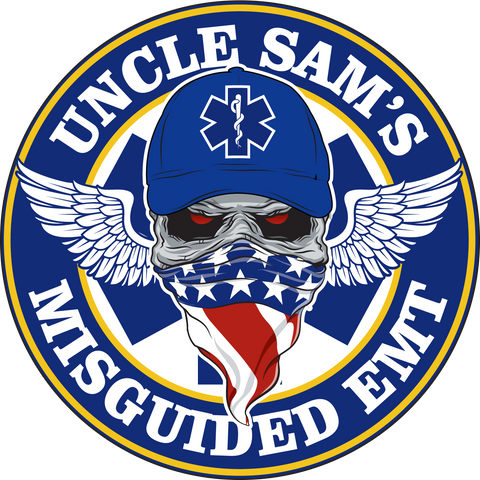 Misguided EMT Decal 5""
