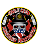 Misguided Firefighter Decal 5""