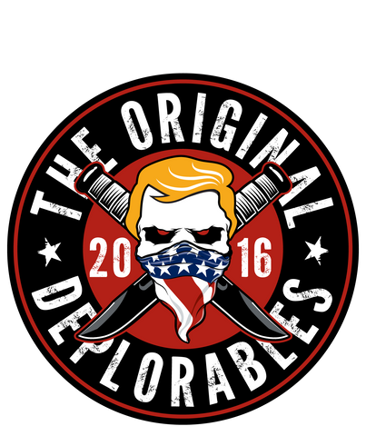 Original Deplorables Decal 2.5""