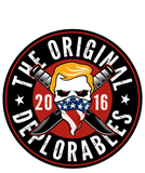Original Deplorables Sticker 5""
