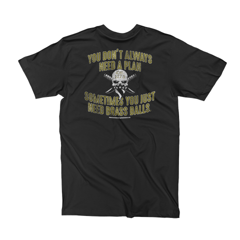 BRASS BALLS T-Shirt (Front & Back)