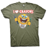 I LOVE CRAYONS T-Shirt
