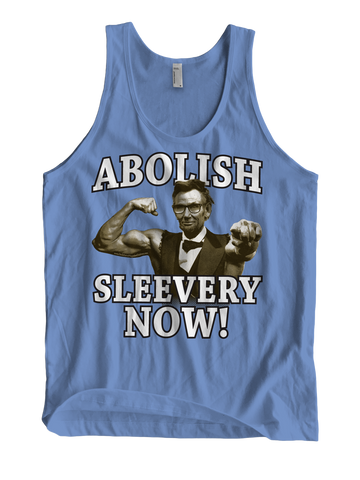 ABOLISH SLEEVERY NOW Tank Top