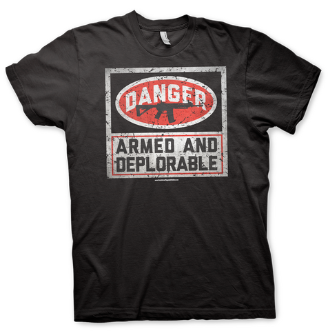 ARMED & DEPLORABLE T-Shirt