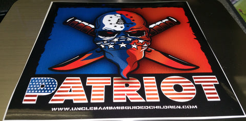 Patriot Decal (5x5)