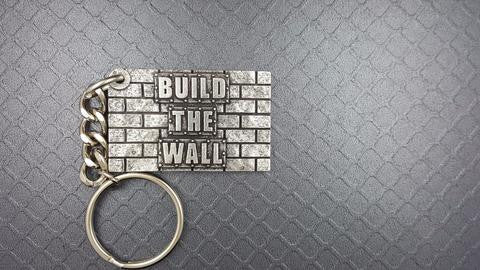 BUILD THE WALL KEY FOB