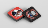 Misguided Officer Coasters (3)