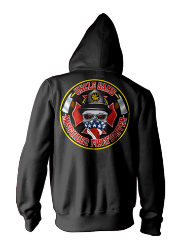 Misguided Firefighter Hoodie
