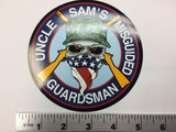 Misguided Guardsman Decal 5""