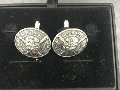 Uncle Sam's Misguided Children Cufflinks