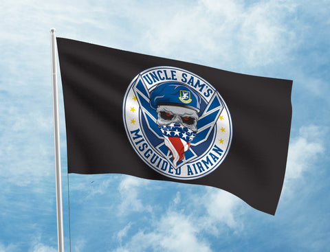 Uncle Sam's Misguided Airman Flag