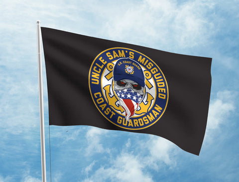 Uncle Sam's Misguided Coastguard Flag
