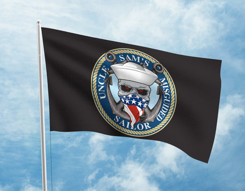 Uncle Sam's Misguided Sailor Flag
