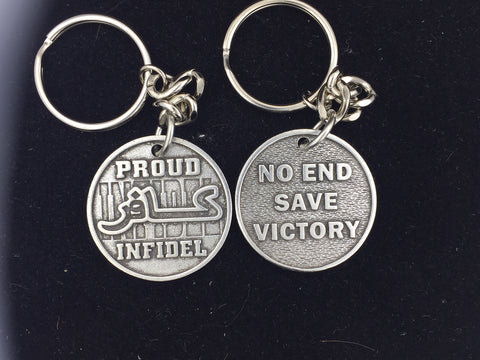 Proud Infidel Key Fob