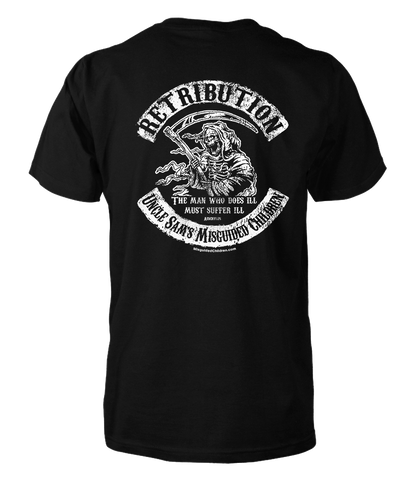 Retribution T-Shirt (Front and Back)
