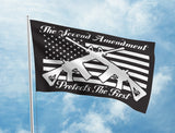 The Second Amendment Protects The First Flag