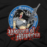 Shirts - Women Of Mayhem Assault closeup