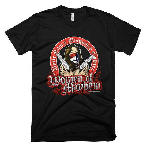 Shirts - Women Of Mayhem Gun Slinger black