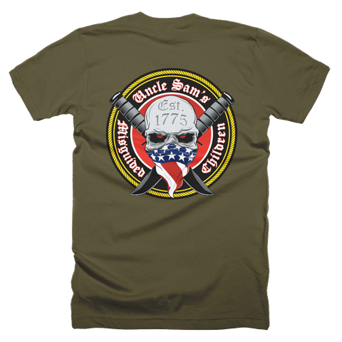 US Marines Est. 1775, Supporters and Family T-Shirt (Front and Back)