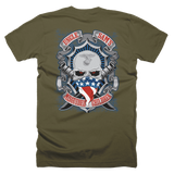 US Marines, Supporters and Family T-Shirt (Front and Back)