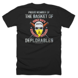 DEPLORABLE PROUD MEMBER (front and back) T-Shirt