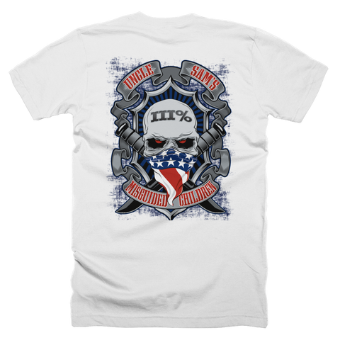American III% T-Shirt (Front and Back)