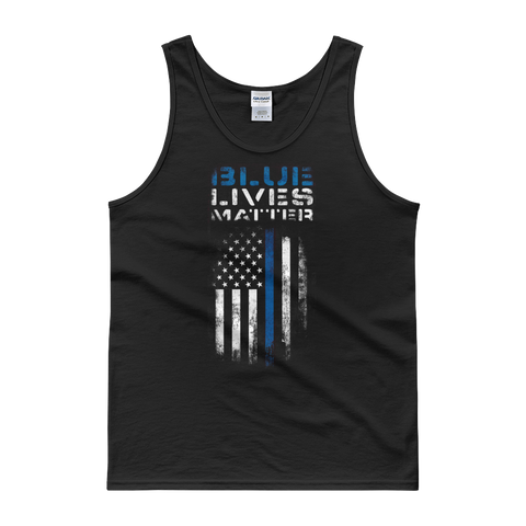Blue Lives Matter Tank Top