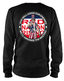 Red Nation Rising (Front & Back) Long Sleeve