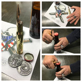 2 Challenge Coin & .50 Cal ASSAULT Bottle Opener Bundle