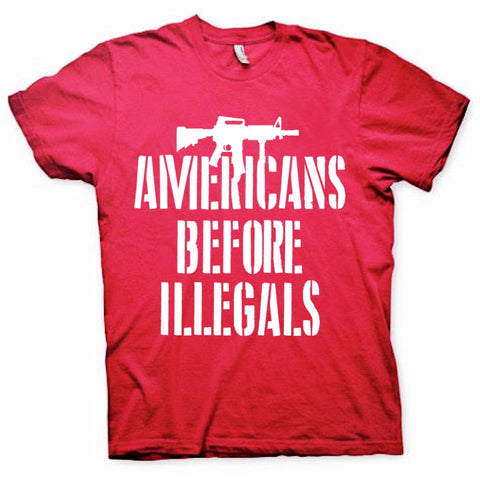 Americans Before Illegals T-Shirt