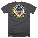 Misguided Coast Guardsman (Front and Back) T-Shirt